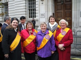 Crofton Lions at the London Service of Remembrance