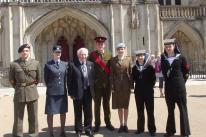 A14 REG with the Lord Lieutenants Cadets