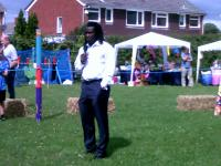Linvoy Primus, Pompey footballer opened the Show