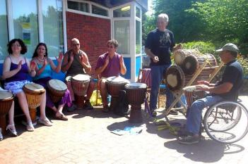 Fishbourne African Drummers