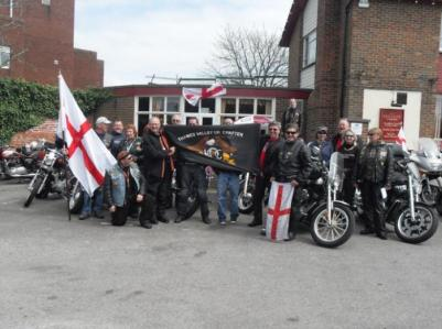 Bikers at St. Georges Day 2011