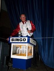 Lion David Crockford, the Bingo Caller