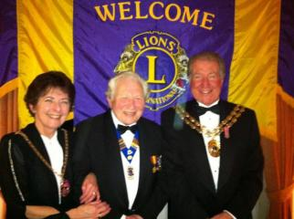 Crofton Charter with Mayor FEB 2012