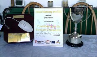 The three awards.  Have\'nt we done well!