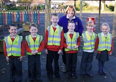Lion President and the Hi Vis Kids   CNV00084