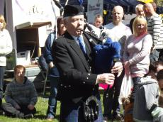 Pipe Major Joe Fagan