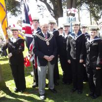 Mayor and Cadet Colour Party 103