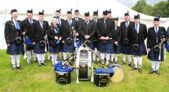 hARBOUR Pipes & Drums Group Photo