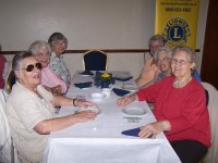 Some of the guests at the Senior Citizens Party 2009