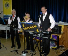 NOSTALGIA  entertaining the Senior Citizens Party