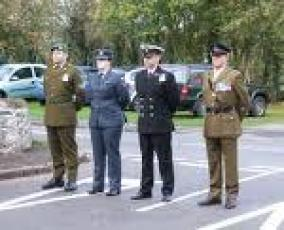TRI SERVICE ON PARADE