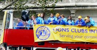 Top Deck at the Lord Mayors Show