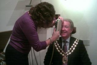 World Sight Day 13 October 2011 The Mayors Eye Health Examination