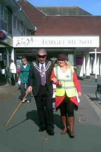 World Sight Day 13 October 2011 009  Mayor & Nicky 2