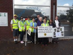 World Sight Day Oct 2014 Crofton Lions with Loud & Proud 001