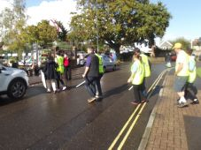 World Sight Day Oct 2014 Road crossing No.1 013