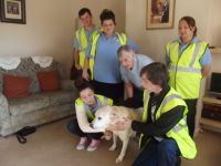 World Sight Day Oct 2014 L&P youngsters with Lennie the Guide Dog 067