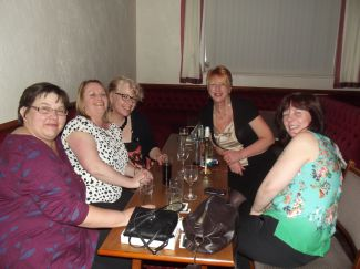 Carisbrooke Girls charter party 020